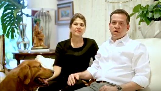 Video: Ito Bisonó, su esposa Chabela y su perra Khalifa envían este mensaje de Semana Santa