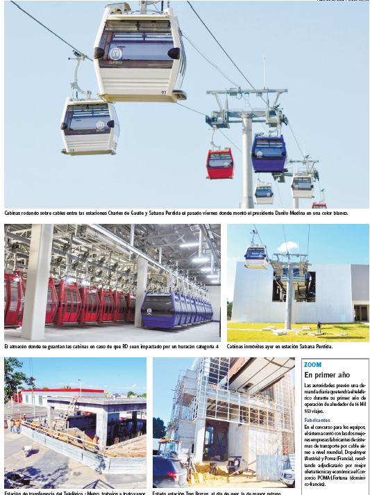Cabinas Teleférico ruedan luego de cuatro años de inicio trabajos