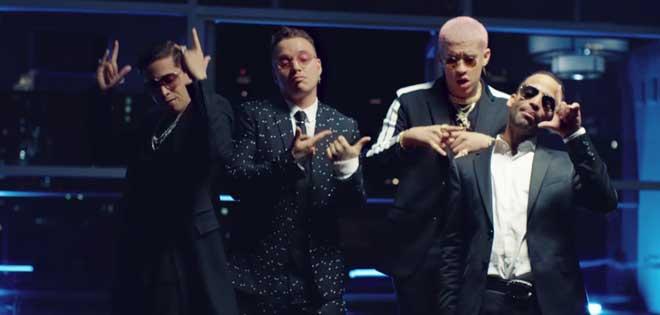 J.Balvin, Bad Bunny, Arcangel y De la Guetto aluden a Maduro en su nuevo tema