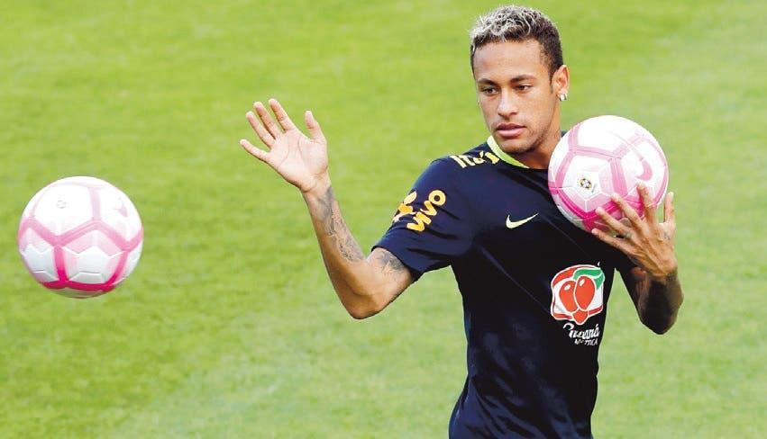 Neymar busca recuperación contrarreloj para el Mundial