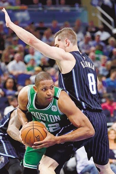 Horford  anota 15 puntos en triunfo Celtics ante los Magic