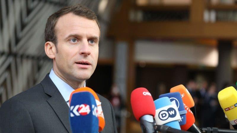 Emmanuel Macron .