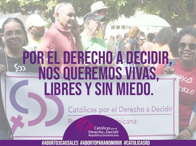 En el Día Internacional de la Mujer, CDDRD defiende el derecho a decidir bajo el lema «ni muertas, ni presas»