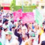 Agrónomos muestran poder de convocatoria, copan la 30 de Marzo