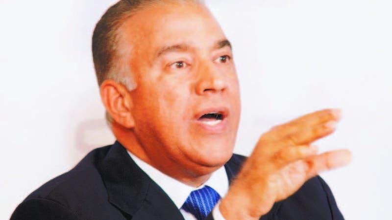 Andrés Bautista, presidente del PRM y aspirante a la misma posición