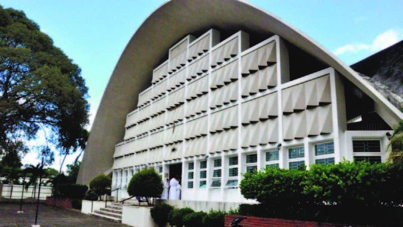 Capilla del Colegio Agustiniano de La Vega, donde predicaba el padre Miguel Bienvenido Florenzán Ulloa.