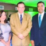 Carmen Ventura, Diego Hurtado Brugal y Elisaben Matos