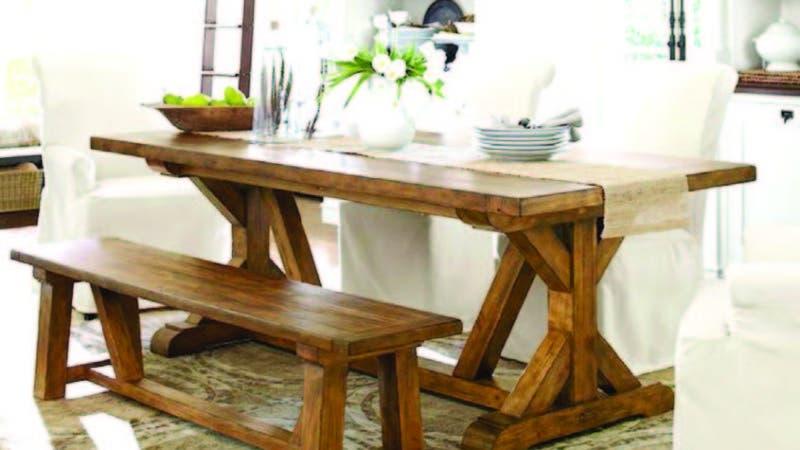 Hoy Digital - Mesas de comedor rústicas con sillas de estilo ...