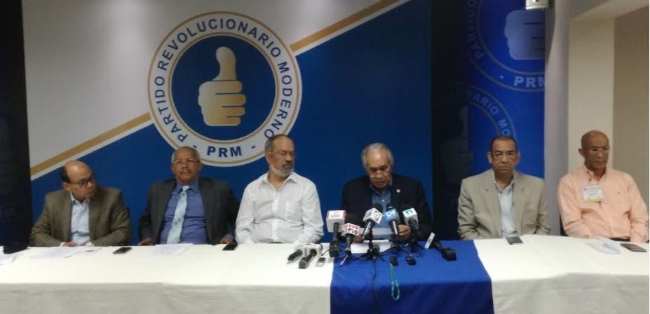 PRM fija para el 8 de abril celebración de Convención complementaria
