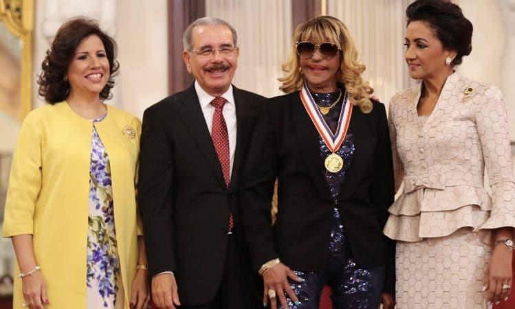 Danilo Medina y Fefita