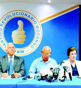 Dirigentes PRM claman acción