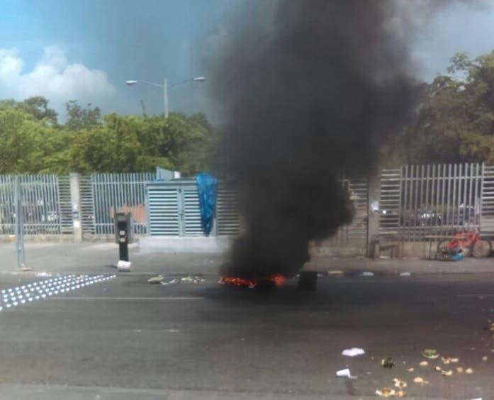 Disturbios en la UASD