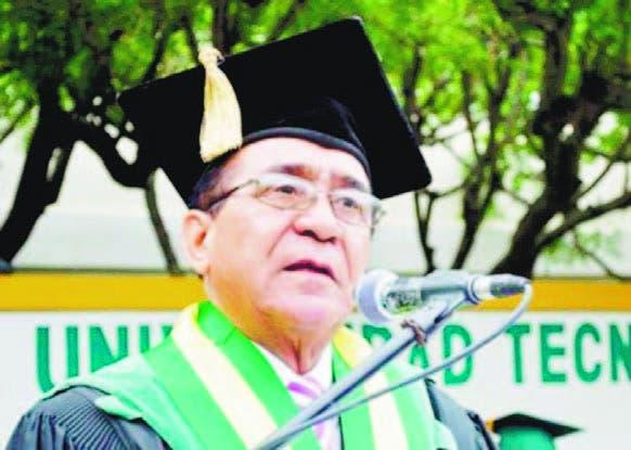 Doctor Priamo Rodríguez Castillo, rector de UTESA