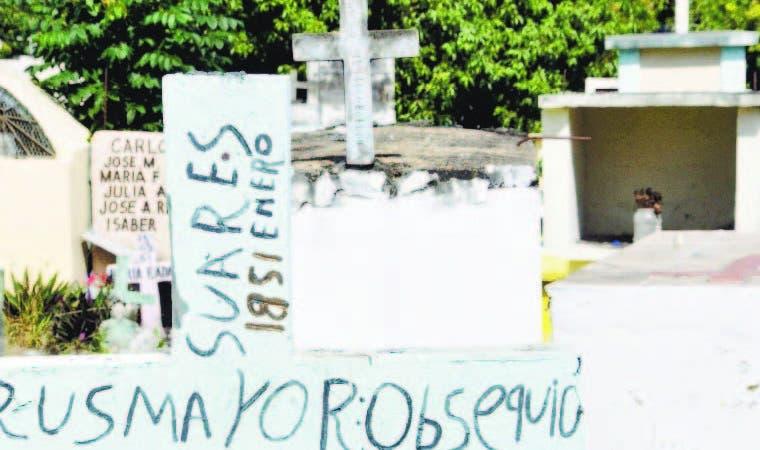 El cementerio más cerca de Los Alcarrizos data de 1851, en Pantoja.
