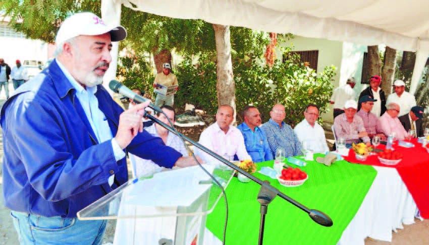 El presidente de la Asociación de Fabricantes de Conservas del Agro (Afconagro), Félix Manuel García