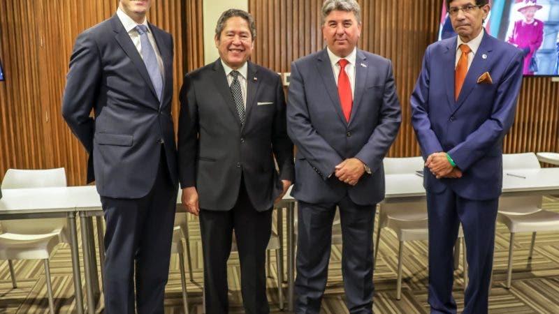 Álvaro Sousa, Fernando González, Chris Campbell y Salvador Figueroa.