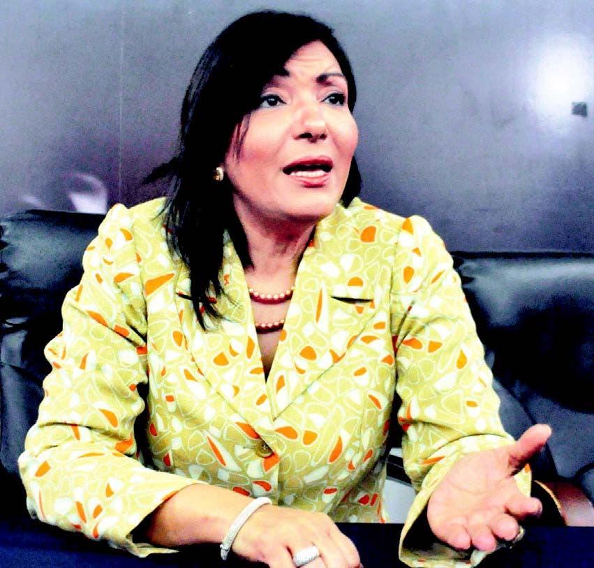 Geanilda Vásquez, única mujer candidata a la presidencia del Partido Revolucionario Moderno (PRM