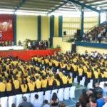 Graduandos de UCNE