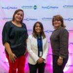 Rostros. mujer mega. Paola Suncar, Melissa Silva y Ninoska Mota