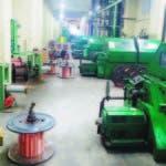 La empresa Alambres y Cables está localizada en Herrera, próximo a la avenida Isabel Aguiar