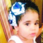 La pequeña Ileana Jiménez tenía un año y seis meses