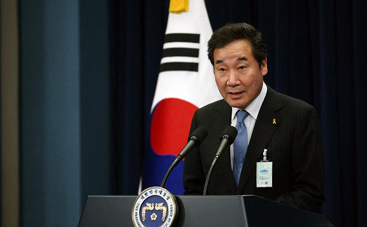 Presidente Medina recibe a primer ministro de Corea del Sur