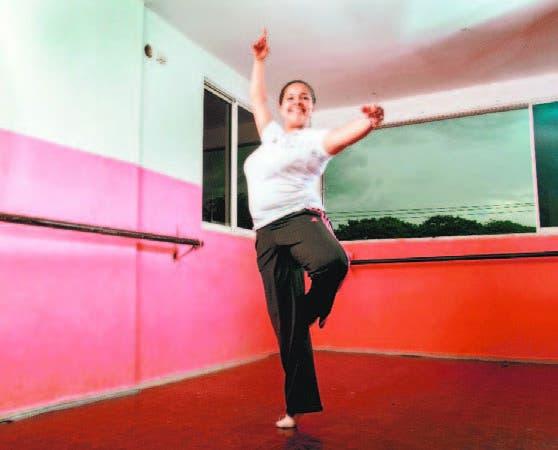 Luisanny Acevedo ha mejorado su calidad de vida con academia