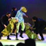 Manuel Raposo (Juan, en la obra) junto a los otros excelentes intérpretes, cuya escogencia fue un logro más del director.