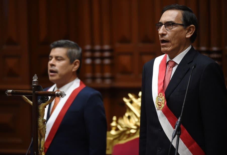 El nuevo presidente de Perú, Martín Vizcarra/AFP