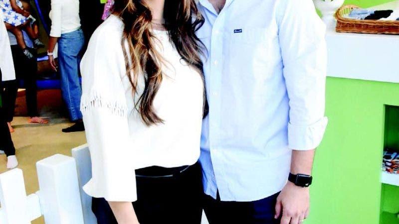 Nathalia Pithon y Javier Collantes