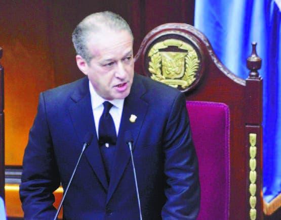 Pared Pérez hizo su análisis ante la Asamblea Nacional