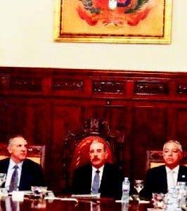 Presidente encabezó la sesión