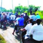 Una multitud despidió al comerciante Henry Hernández (Catey), asesinado en Las Cabuyas, de La Vega.