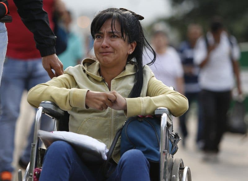 Fotos: Venezolanos enfermos huyen a Colombia para buscar atención médica