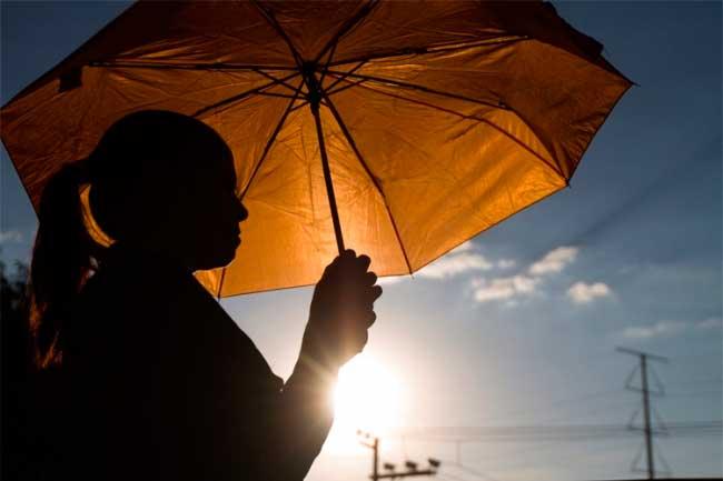 Pocas lluvias y mucho calor se espera para hoy, según ONAMET