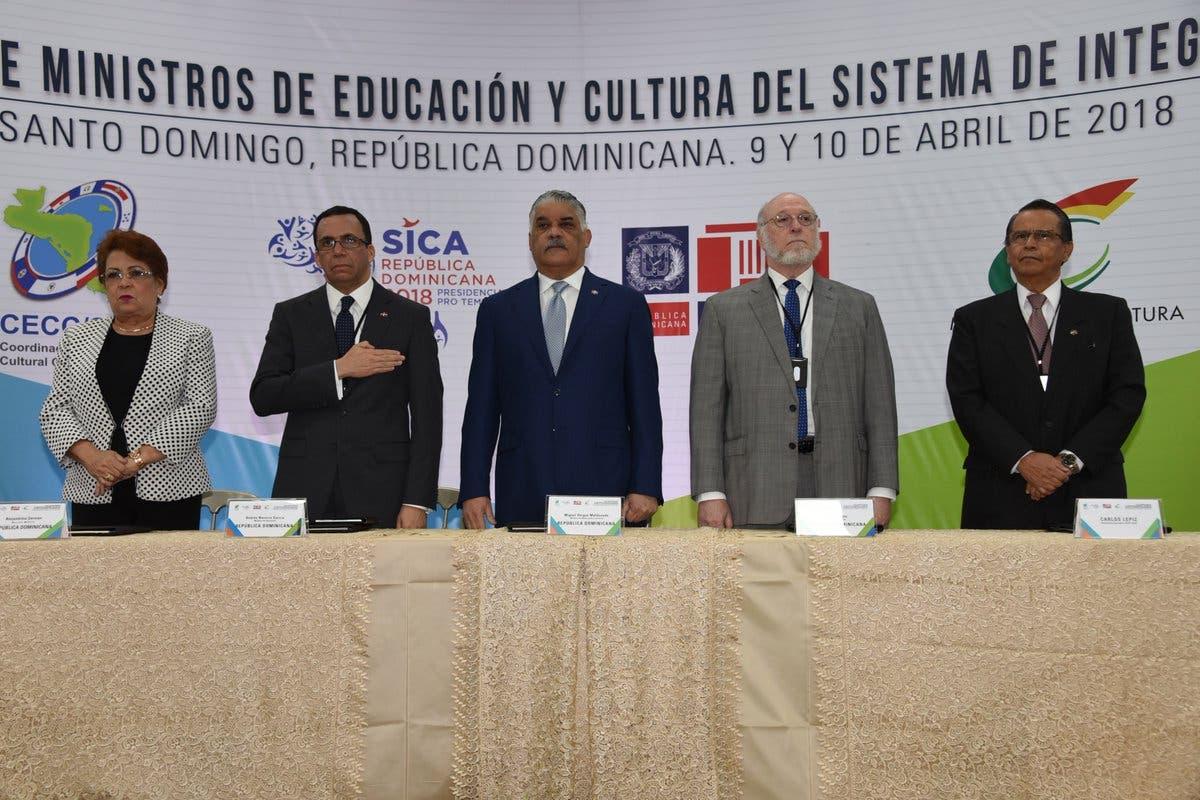 Ministros de Educación y Cultura de Centroamérica se reúnen en RD para avanzar en propósitos comunes