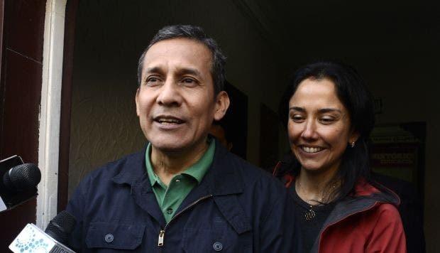 Poder Judicial peruano inicia trámite para excarcelación de Humala y esposa