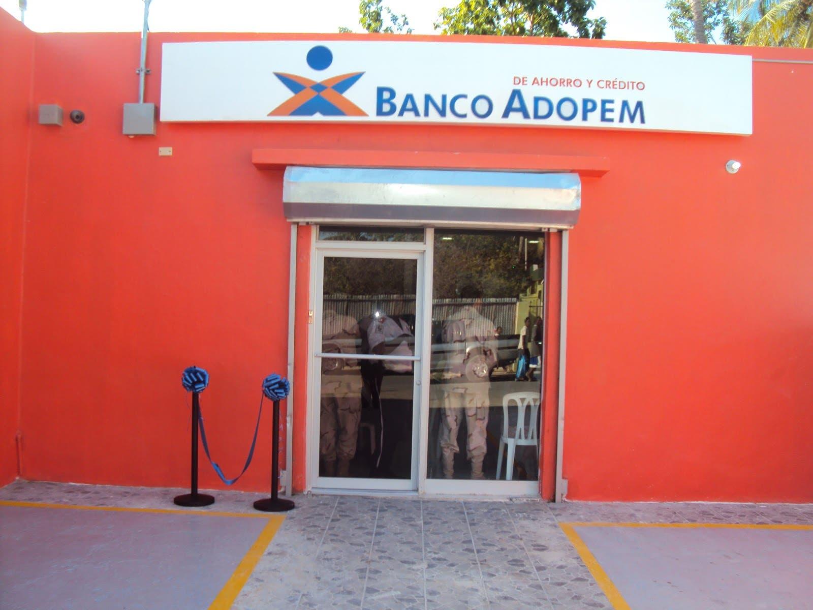 Activos del Banco Adopem crecieron 12% en 2017