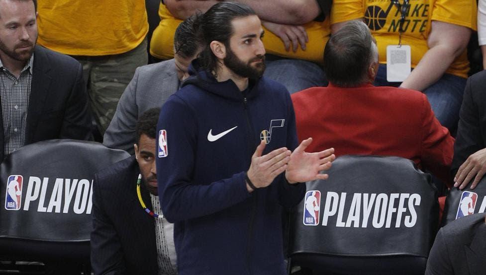 Rubio será baja indefinida con los Jazz en las semifinales ante los Rockets