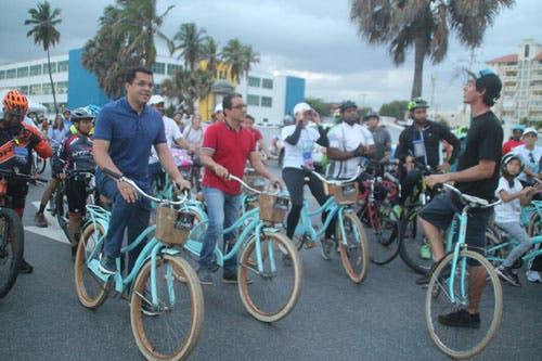 AlcaldDavid Collado promueve ciclismo con «Santo Domingo por la Tierra»