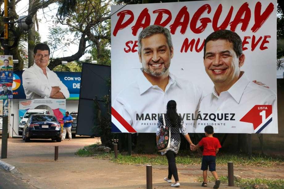 Paraguay elige presidente entre candidatos conservadores