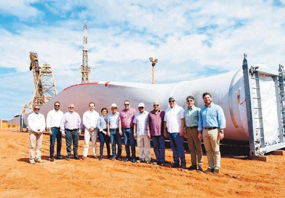 EGE Haina muestra avances de nuevos proyectos energía