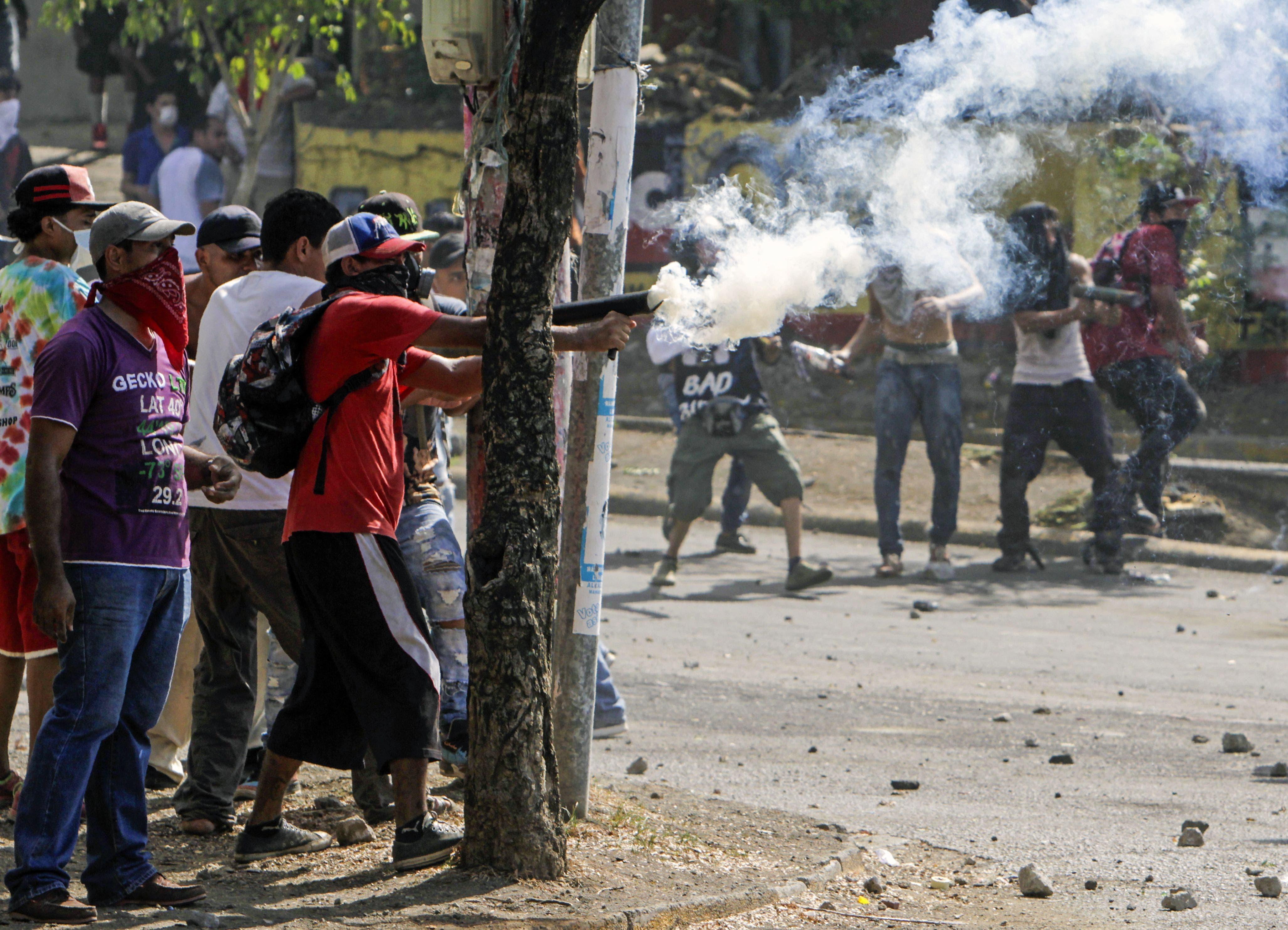 Fotos: En Nicaragua hay al menos 27 muertos y 100 heridos por protestas tras la derogación de reforma