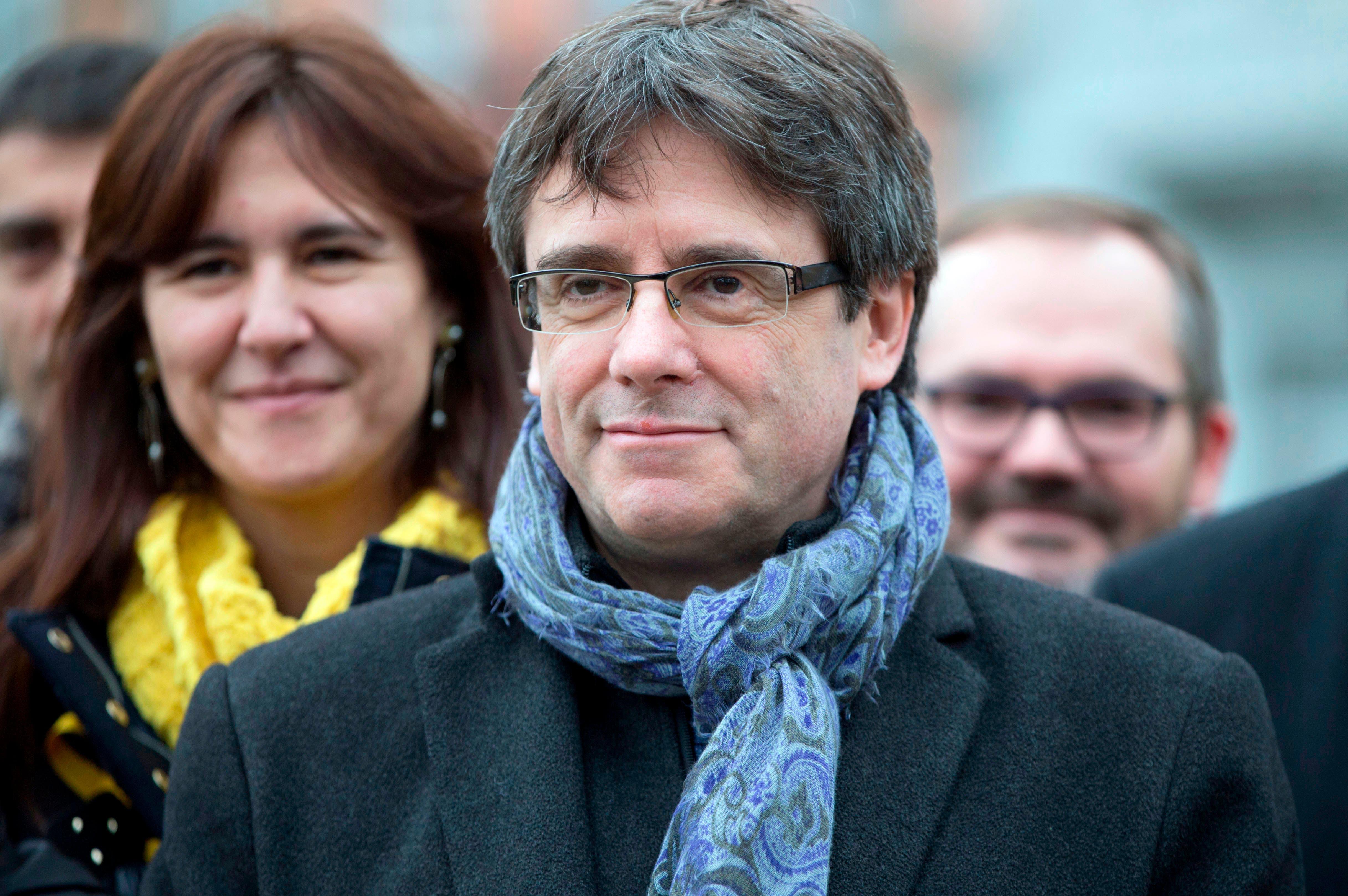 Justicia alemana deja en libertad a Carles Puigdemont y descarta delito de rebelión