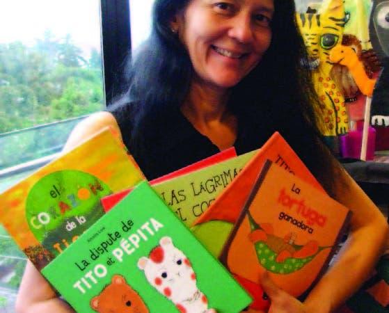 Amalia Low, autora infantil invitada a la Feria Internacional del Libro