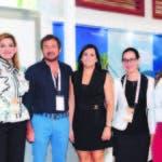 Deyanira Pappaterra, Joel Santos, Yamel Pimentel y Onelis González
