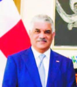 El Canciller Miguel Vargas