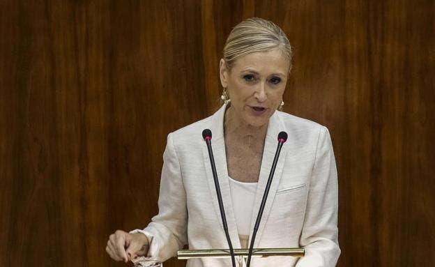 El viejo hurto de unas cremas cosméticas acaba con la presidenta de Madrid
