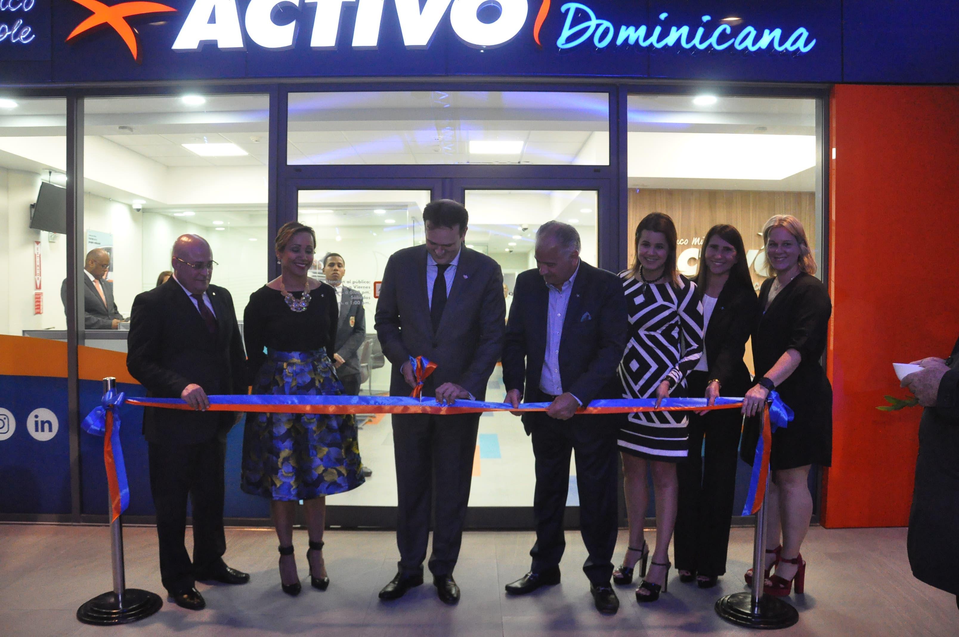 Banco Múltiple Activo abre  su tercera filial en el país