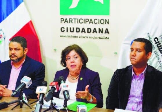 Heiromy Castro, Mirian Díaz y Guillermo Peña, directivos de PC